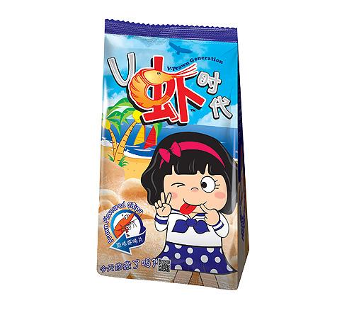V虾时代原味虾味片70g-24包