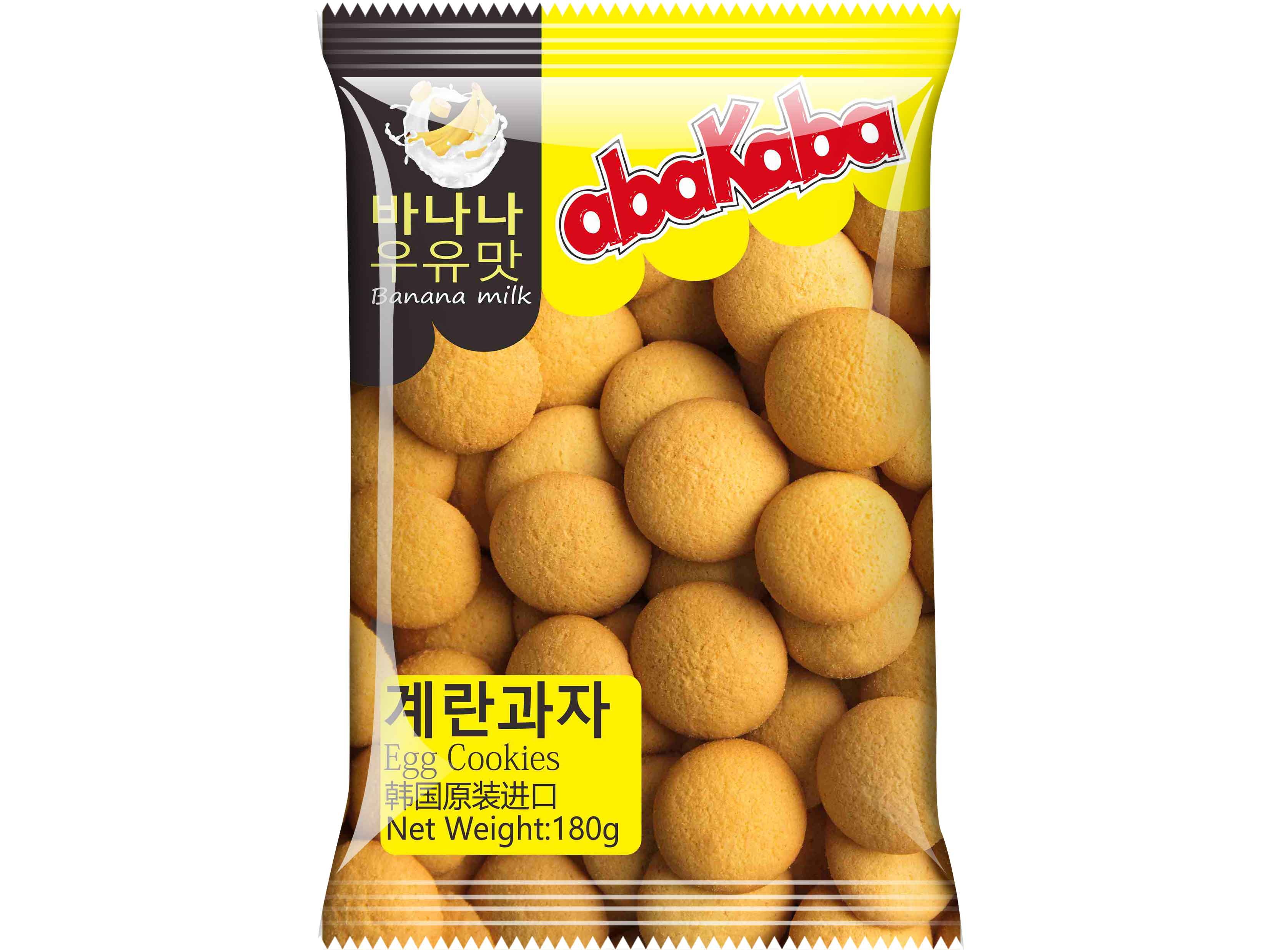 阿巴咔巴香蕉牛奶鸡蛋饼干