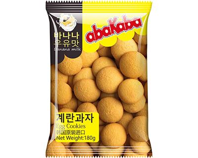 阿巴咔巴香蕉牛奶味鸡蛋饼干