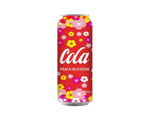 晃动水蜜桃味可乐