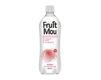果乐汾水蜜桃味苏打气泡水