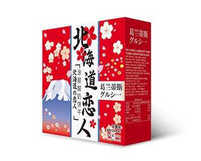 北海道恋人涂层酸奶饼干(芒果味)