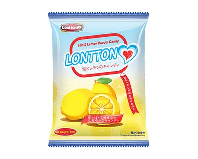 伦敦WF咸柠檬味糖